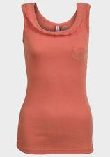Maglie e camicie da donna Canottiera, canotta con spalline a fantasia righe taglia 44