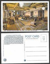 Old Utah Postcard - Salt Lake City - Governor's Reception Room, Capitol