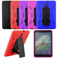 "Heavy Duty Hybrid Armor Case Cover for Samsung Galaxy Tab S2 8.0"" SM-T715 Tablet"
