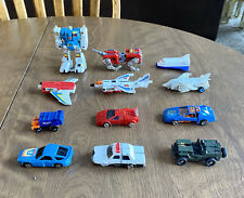 Lot of 1980?s Transformers Voltron Go-Bot?s Zybots Convert A Bots Figures