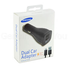 Samsung double USB Rapide Voiture chargeur Micro usb Pour Galaxy Smartphones