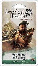 For Honor And Glory Dynasty Pack Legend Of The Five Rings Card Game L5C03 LCG
