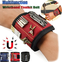 Magnetic Wristband Strong Magnets Holding Screws Nails Drill Bits Carpenter Tool