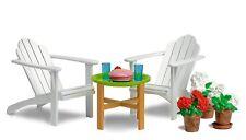 LUNDBY™ 60.3044 Gartenmöbel für Puppenhaus in 1:18