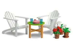 LUNDBY™ 60.3049 Gartenmöbel für Puppenhaus in 1:18