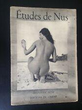 Etude de Nus Edition du Chêne 24 photographies Esthetique Erotisme Brassaï BE
