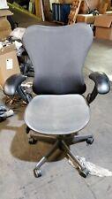 Loaded Herman Miller Mirra 1 Task Chair Grey Mesh Desk Chair Office Mirra Loaded