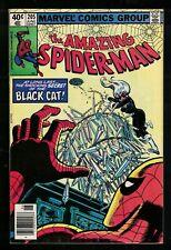 Marvel comics Amazing Spiderman  205 VFN+ 8.5 1980 Black Cat