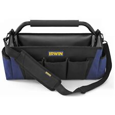 Irwin TOOL TOTE 450mm 13 Pockets & Slots, Open Main Compartment *USA Brand