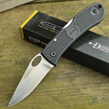 Ka-Bar Dozier Black Zytel Handle Lockback AUS8A Folding Knife 4065