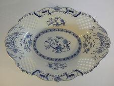 Porzellanschale Zwiebelmuster NEU Antik-Look Obstschale Porzellan Keramik