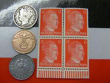 Nazi 2 & 10 Reichspfennig Coins 1910's V Nickel US German Lot
