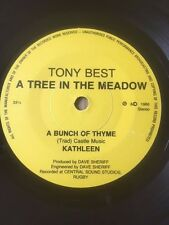 """TONY BEST 7"""" 33rpm EP - A TREE IN THE MEADOW / ROLY / BUNCH OF THYME / KATHLEEN"""