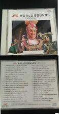 CD JVC WORLD SOUND CATALOGUE SVCD-1009