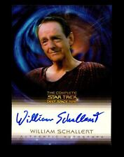 Star Trek Complete Deep Space Nine DS9 William Schallert A23 Autograph Card