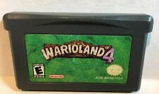 Wario Land 4 Nintendo Game Boy Advance GBA Game Authentic Cleaned Tested
