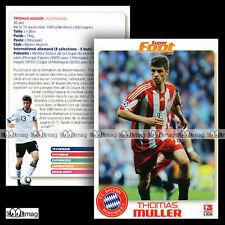 THOMAS MULLER (FC BAYERN MÜNCHEN EC / MUNICH) - Fiche Football SF / Fussball