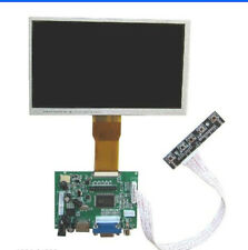 "8"" TFT LCD Display Module 1080P HDMI+VGA+2AV Driver Board for Raspberry Pi"