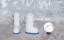 NEW BARBIE DOLL MATTEL WHITE AND BLUE ASTRONAUT MOON BOOTS SHOES