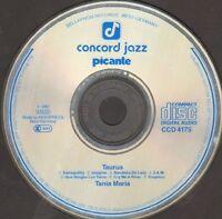 Tania Maria – Taurus - 1982 Neuauflage Concord Jazz Picante Germany - Ccd 4175