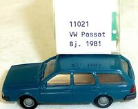VW Passat Variant blau IMU/EUROMODELL 11021 H0 1/87 OVP #HO 1  å