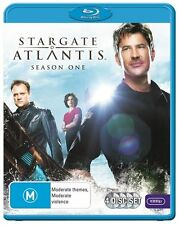 Stargate Atlantis : Season 1 (Blu-ray, 2012, 4-Disc Set)