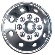 "American Motorhome RV 5th WHeel 19.5"" S/steel Wheel trim"