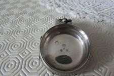 Solid silver pocket watch case Birmingham 1919