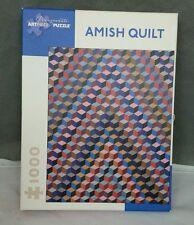 Pomegranate Amish Quilt 1000 piece Artpiece Puzzle de Young Museum of San Fran