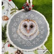 Winter Snow Owl Blackberry Lane Cross Stitch Pattern
