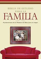 Biblia de estudio para la familia: Fundamentos de la Palabra de Dios para tu hog