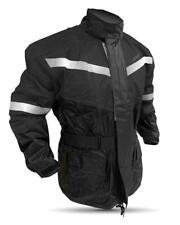 Motorcycle Rain Gear Suit X Large Size 100%WaterProof Black