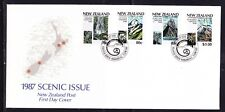 New Zealand 1987 National Parks First Day Cover