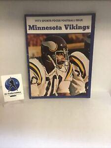 Vintage 1972 Minnesota Vikings sports focus football issue NFL