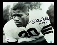 Bill Willis HOF 77 PSA DNA Coa Hand Signed 8x10 Autograph Photo
