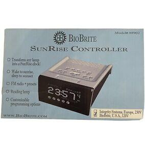 sunrise controller alarm clock