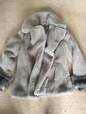 Diane Von Furstenberg   Faux Fur Emma Coat Med Uk 10 , $498 New. LAST ONE !!!