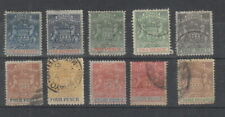 Rhodesia 1892 - 1894 to 3/- MH or used
