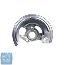 1967-68 GM Cars Silver Cadmium Plated Disc Brake Backing Plates - Pair