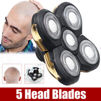 Replacement Shaver Razor Head Electric 5 Blades Floating Shaving Bald Trimmer