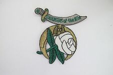 DAUGHTERS OF THE NILE EMBROIDERY PATCH