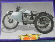 Fiche Moto  NORTON 500T TRIALS OUTHT 1952  Motorcycle Card
