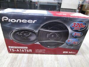 "PIONEER 3 WAY  HIGH DYNAMIC RANGE TS-A1676R 320W 6 1/2 5 3/4"" NEW PAIRS"