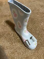 Sweet Honey -Whim & Wander -Youth Girl Rain Boots Framed Rose -Size 1 Brand New