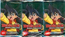 BEYBLADE TCG COLLISION BOOSTER PACKS X3 - FACTORY SEALED
