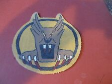 WWII USAAF SCREAMING DEMON  7 TH FIGHTER 49 TH FG 5 TH AAF FLIGHT JACKET PATCH