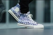 NIB Converse Chuck Taylor All Star High Top Shoe~Missoni~Egret/Multi Sz 11.5