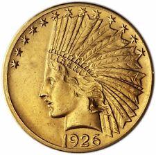 USA 10 Dollar Gold 1926 vz Goldmünze Indianer-Kopf in Münzkapsel