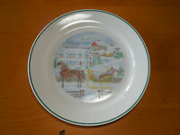 """Corelle COUNTRY MEMORIES Dinner Plate 10 1/4"""" Christmas 1 ea         9 available"""