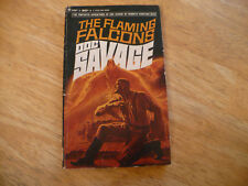 "DOC SAVAGE # 30 ""THE FLAMING FALCONS"" - 2ND PRTG 1968 - BANTAM PB - SOLID BOOK"